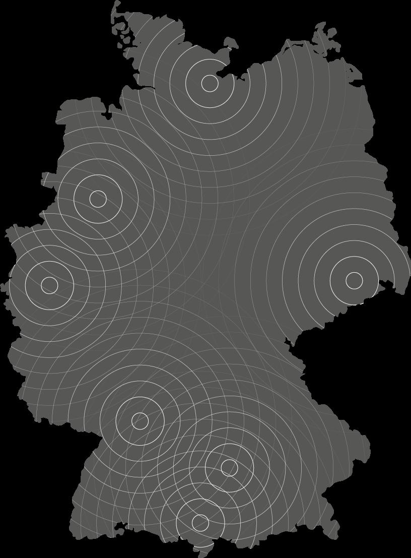 Standortkarte auto-zeugnis